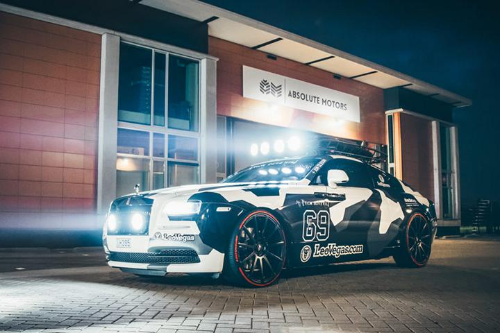 George The Rolls 810 PS Rolls Royce Wraith Von Jon Olsson