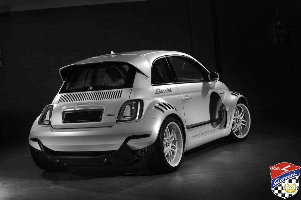giannini 350 gp fiat 500 tuning 2017 14 magazin. Black Bedroom Furniture Sets. Home Design Ideas
