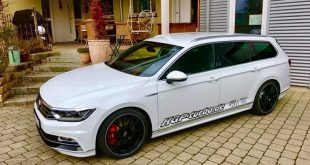 HGP VW Passat 2.0 B8 TSI R Line 480PS Tuning 14 310x165 Top! Widebody Kit & Radi8 Alufelgen am VW Passat CC