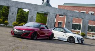 Honda S660 Liberty Walk Widebody Kit 2017 Tuning 2 310x165 Fertig   Honda S660 mit fettem Liberty Walk Widebody Kit