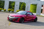 Honda S660 Liberty Walk Widebody Kit 2017 Tuning 3 190x127 Fertig   Honda S660 mit fettem Liberty Walk Widebody Kit