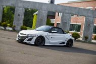 Honda S660 Liberty Walk Widebody Kit 2017 Tuning 4 190x127 Fertig   Honda S660 mit fettem Liberty Walk Widebody Kit