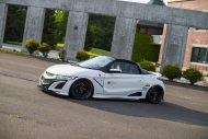 Honda S660 Liberty Walk Widebody Kit 2017 Tuning 6 190x127 Fertig   Honda S660 mit fettem Liberty Walk Widebody Kit