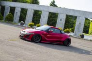 Honda S660 Liberty Walk Widebody Kit 2017 Tuning 7 190x127 Fertig   Honda S660 mit fettem Liberty Walk Widebody Kit