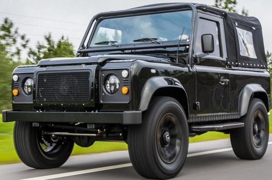 Honey Badger Land Rover V8 Defender Tuning Irre   Project Viper ist ein Land Rover Defender mit LS3 V8