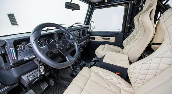 Honey Badger Land Rover V8 Defender Tuning3 Irre   Project Viper ist ein Land Rover Defender mit LS3 V8