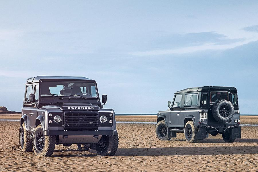 Land Rover Defender Final Edition tuningblog.eu 1 2,3 Liter EcoBoost Power im Land Rover Defender von JE MotorWorks