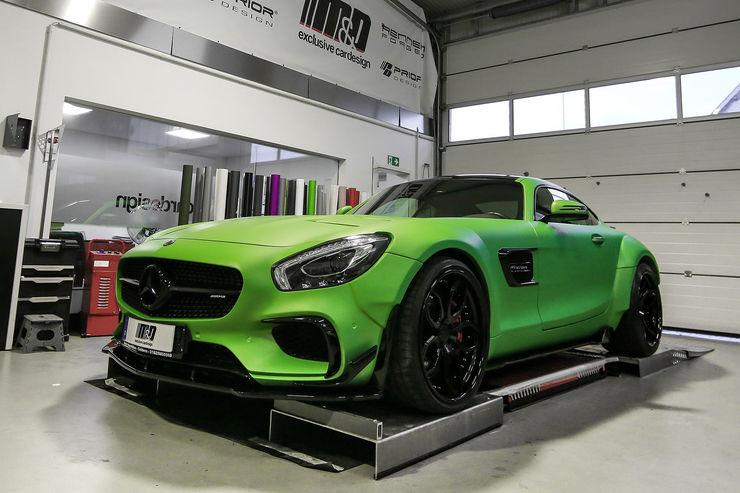 "Mercedes AMG GT S PD800GT Hulk MD Tuning 2 Mercedes AMG GT S PD800GT ""Hulk Edition"" vom Tuner M&D"