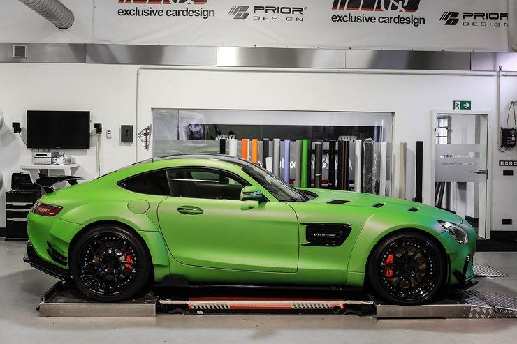 "Mercedes AMG GT S PD800GT Hulk MD Tuning 6 Mercedes AMG GT S PD800GT ""Hulk Edition"" vom Tuner M&D"