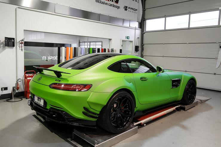 "Mercedes AMG GT S PD800GT Hulk MD Tuning 7 Mercedes AMG GT S PD800GT ""Hulk Edition"" vom Tuner M&D"