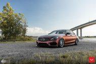 Mercedes Benz W205 Vossen CVT FlipFlop Folierung Bagged Tuning 11 190x127 Mercedes Benz C Klasse (W205) auf Vossen CVT Felgen