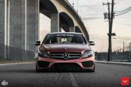 Mercedes Benz W205 Vossen CVT FlipFlop Folierung Bagged Tuning 14 190x127 Mercedes Benz C Klasse (W205) auf Vossen CVT Felgen