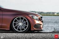 Mercedes Benz W205 Vossen CVT FlipFlop Folierung Bagged Tuning 7 190x127 Mercedes Benz C Klasse (W205) auf Vossen CVT Felgen