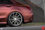 Mercedes Benz W205 Vossen CVT FlipFlop Folierung Bagged Tuning 9 190x127 Mercedes Benz C Klasse (W205) auf Vossen CVT Felgen