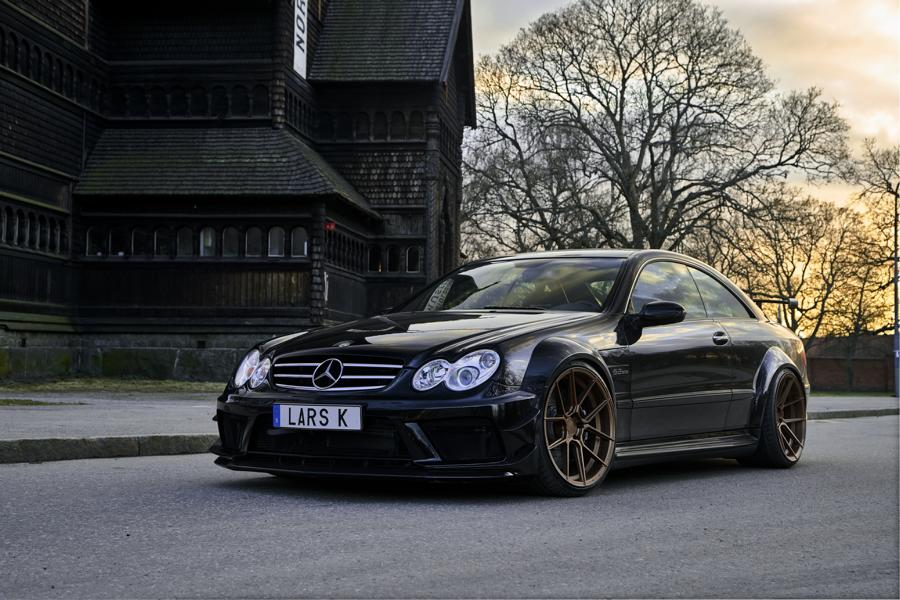 Mercedes W209 Clk Amg Bs Ferrada Wheels Fr8 Tuning 2