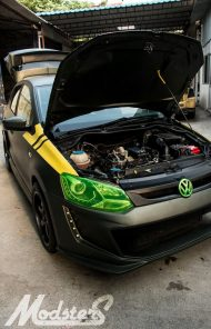 Modsters Tuning VW Polo F 86 SABRE Widebody Kit 14 190x296 Pseudo VW Golf R? Modsters Tuning VW Polo F 86 SABRE