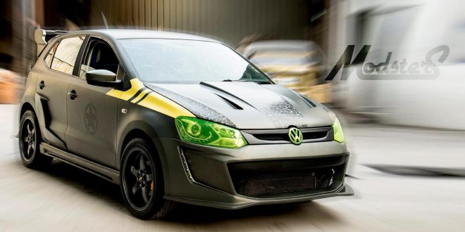 pseudo vw golf r  modsters tuning vw polo f-86 sabre - tuningblog eu