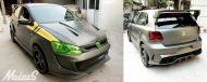 Modsters Tuning VW Polo F 86 SABRE Widebody Kit 5 190x76 Pseudo VW Golf R? Modsters Tuning VW Polo F 86 SABRE