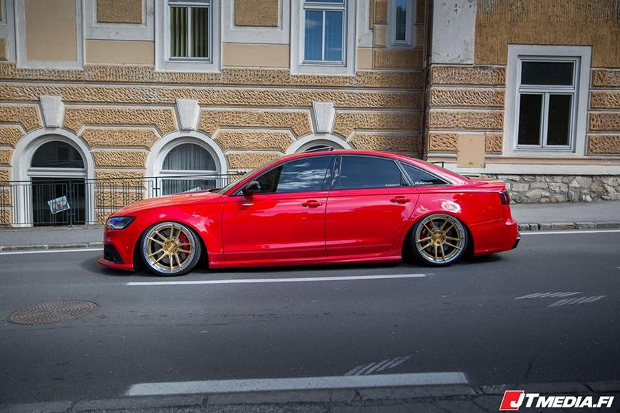 PPParts Audi A C With RS Optics ZPerformance Wheels - Audi a6 parts