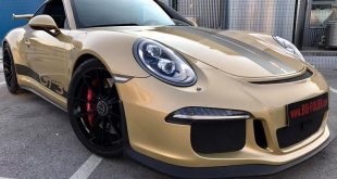 Porsche 911 1007 GT3 Metallic Platinum Gold Folierung Tuning 310x165 Porsche 911 (991) GT3 in Metallic Platinum by BB Folien