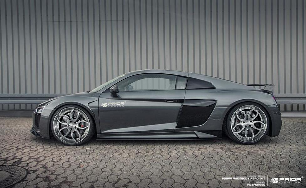 Prior Design PD800WB Bodykit Audi R8 4S 2017 Tuning 7 Neues Prior Design PD800WB Bodykit für den Audi R8 4S