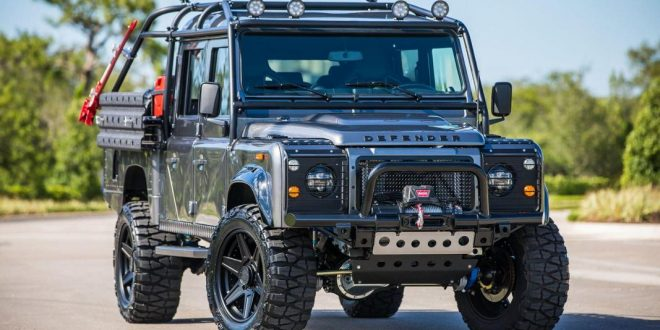 irre project viper is a land rover defender with ls3. Black Bedroom Furniture Sets. Home Design Ideas