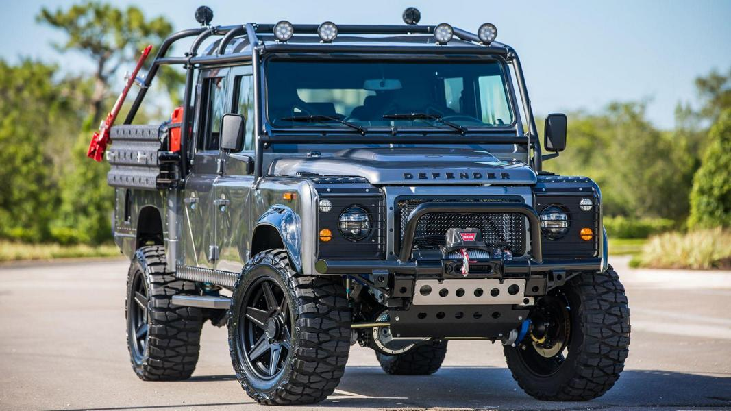 Project Viper Land Rover Defender LS3 V8 Tuning 15 Irre   Project Viper ist ein Land Rover Defender mit LS3 V8