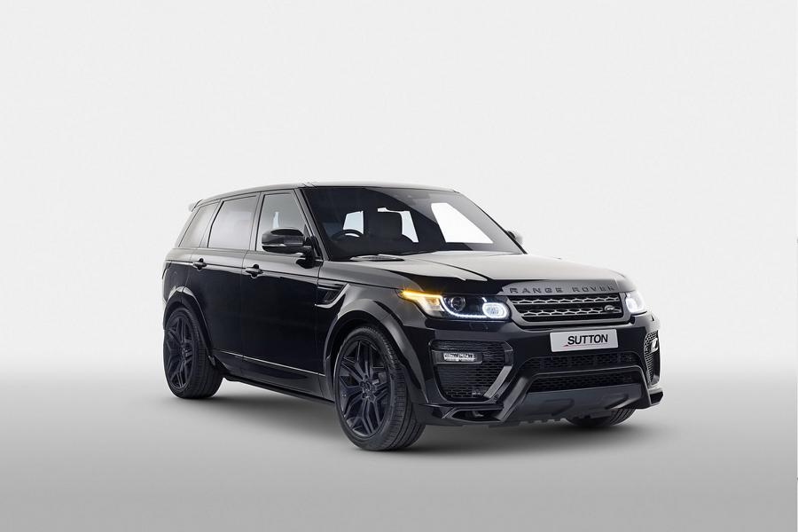 Range Rover Sport 2017 Tuning Widebody Kit Clive Sutton 6 Dezent & edel   Range Rover Sport vom Tuner Clive Sutton