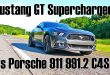 Roush Mustang GT vs. Porsche 911 Carrera 4 S 110x75 Video: 670PS Roush Mustang GT vs. Porsche 911 Carrera 4 S