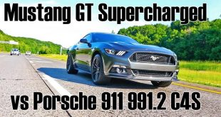 Roush Mustang GT vs. Porsche 911 Carrera 4 S 310x165 Video: 670PS Roush Mustang GT vs. Porsche 911 Carrera 4 S