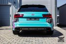 TROPICAL AZURE ART CAR EDITION Audi RS6 Avant Folierung 10 135x90 TROPICAL AZURE ART CAR EDITION No.2/3   Audi RS6 Avant