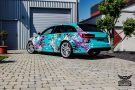 TROPICAL AZURE ART CAR EDITION Audi RS6 Avant Folierung 13 135x90 TROPICAL AZURE ART CAR EDITION No.2/3   Audi RS6 Avant