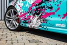 TROPICAL AZURE ART CAR EDITION Audi RS6 Avant Folierung 16 135x90 TROPICAL AZURE ART CAR EDITION No.2/3   Audi RS6 Avant