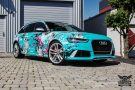 TROPICAL AZURE ART CAR EDITION Audi RS6 Avant Folierung 3 135x90 TROPICAL AZURE ART CAR EDITION No.2/3   Audi RS6 Avant