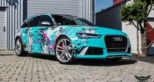 TROPICAL AZURE ART CAR EDITION Audi RS6 Avant Folierung 3 310x165 BMW Z4 E89 mit Sunshift Gloss Folierung by SchwabenFolia