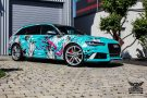TROPICAL AZURE ART CAR EDITION Audi RS6 Avant Folierung 4 135x90 TROPICAL AZURE ART CAR EDITION No.2/3   Audi RS6 Avant