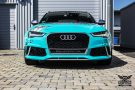 TROPICAL AZURE ART CAR EDITION Audi RS6 Avant Folierung 5 135x90 TROPICAL AZURE ART CAR EDITION No.2/3   Audi RS6 Avant