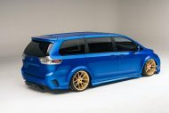 Toyota Sienna Luxus Van SEMA 2016 Tuning 3 190x127 Real Time Automotive Solutions   Toyota Sienna Luxus Van