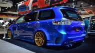 Toyota Sienna Luxus Van SEMA 2016 Tuning 8 190x107 Real Time Automotive Solutions   Toyota Sienna Luxus Van