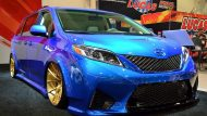 Toyota Sienna Luxus Van SEMA 2016 Tuning 9 190x107 Real Time Automotive Solutions   Toyota Sienna Luxus Van