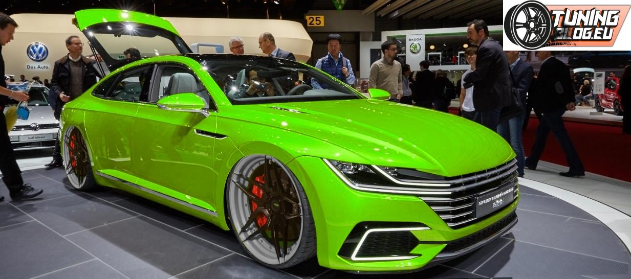Top First Virtual Tuning On The New Vw Arteon