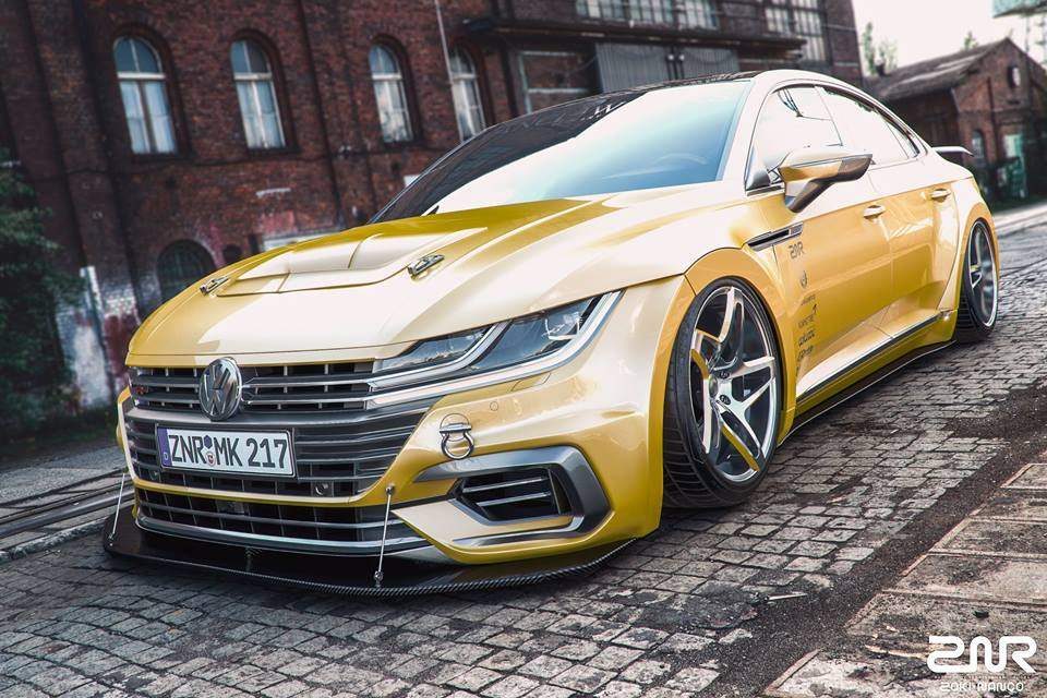 vw arteon forgiato flowmaster airride tuning znr 5 magazine. Black Bedroom Furniture Sets. Home Design Ideas