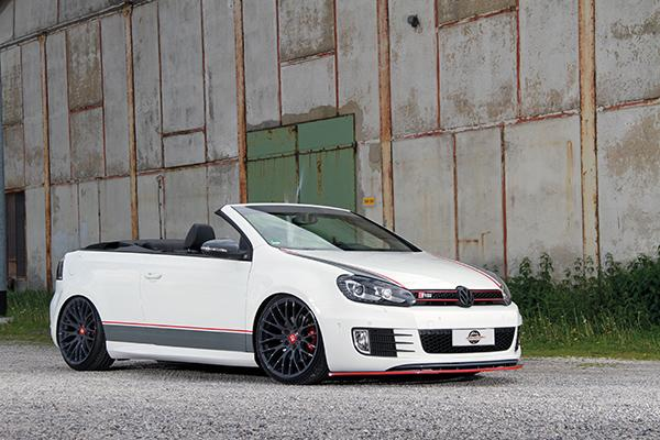 vw golf 6 gti cabriolet tuning urban motors 4. Black Bedroom Furniture Sets. Home Design Ideas