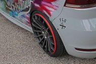 VW Golf Cabrio MK7 Schmidt CC ZERO Sourkauts Tuning 5 190x127 Unübersehbar   VW Golf Cabrio mit Schmidt CC ZERO Felgen