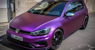 VW Golf VII R Facelift Chrome Matt Purple by CMD 4 310x165 Top   VW Golf VII R Facelift in Chrome Matt Purple by CMD
