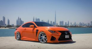 Vossen Wheels VFS 6 Felgen Lexus RC F Bodykit Tuning 2 310x165 Vossen Wheels VFS 6 Felgen am Lexus RC F in Orange