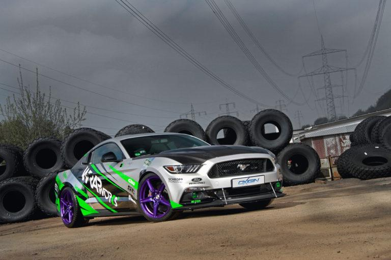 WRAPworks Ford Mustang GT Tuning 11 Racing Style und 485PS im WRAPworks Ford Mustang GT