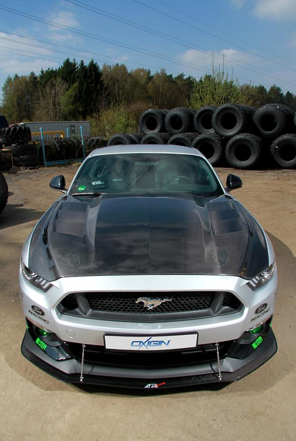WRAPworks Ford Mustang GT Tuning 2 Racing Style und 485PS im WRAPworks Ford Mustang GT