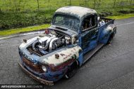 1.200 PS HOONIGAN Ford F1 Oldsmobile 14 190x127 Video: Irre   1.200 PS HOONIGAN Ford F1 Oldsmobile