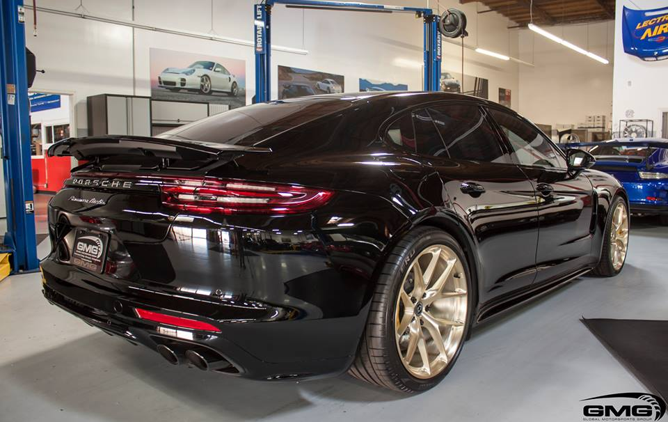 Elegant 2017 Porsche Panamera Turbo On Hre P101 Alu S